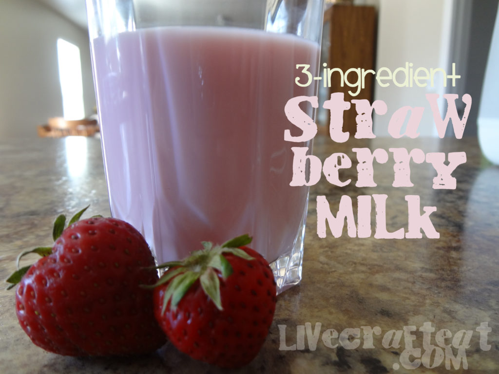 strawberries and milk recipe