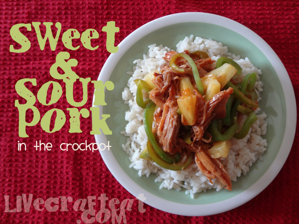 recipe for sweet and sour pork