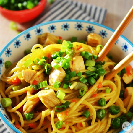 homemade chicken lo mein recipe