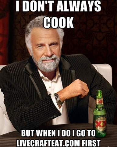 don't always cook