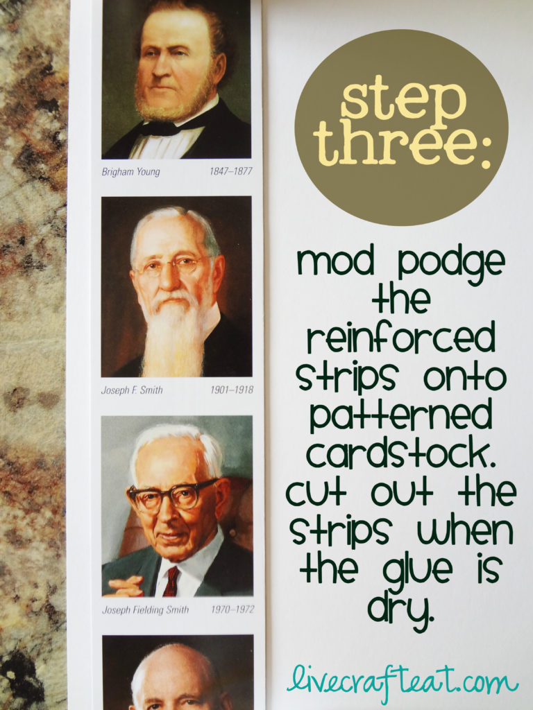 step three for general conference latter-day prophet matching game