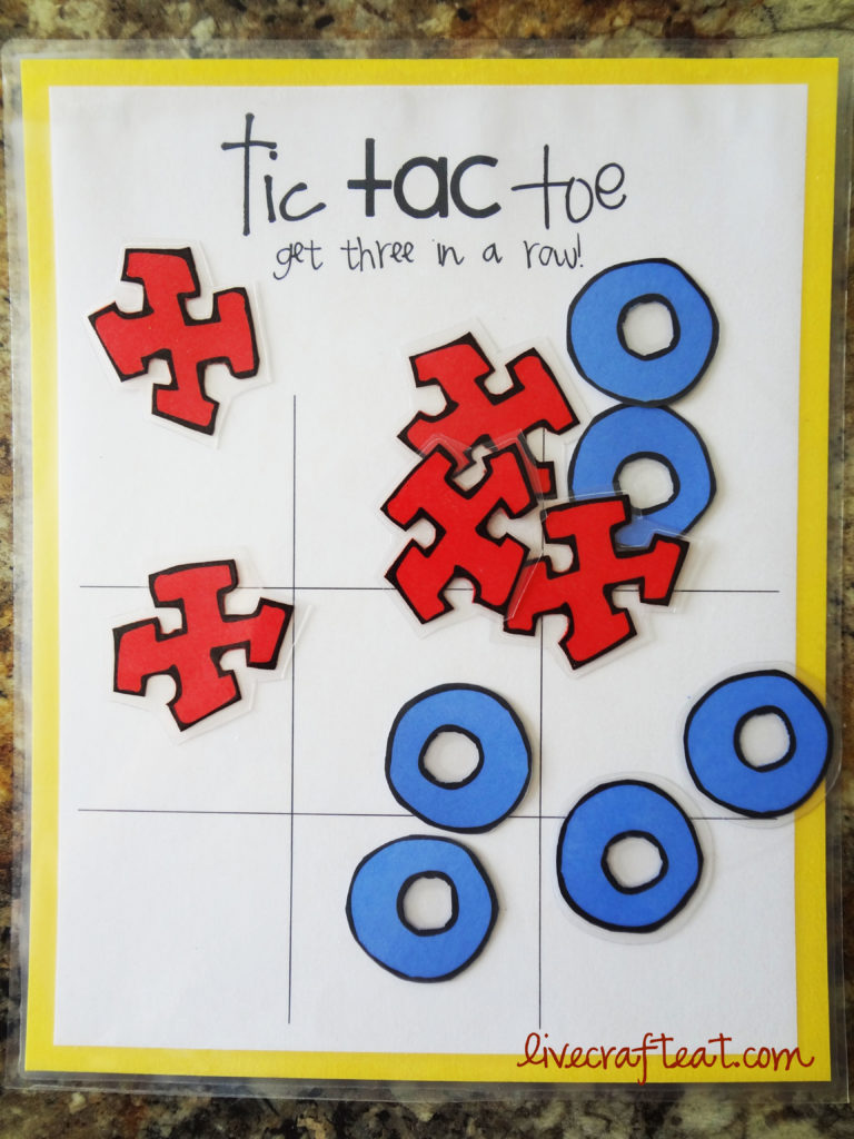 free tic tac toe game printable