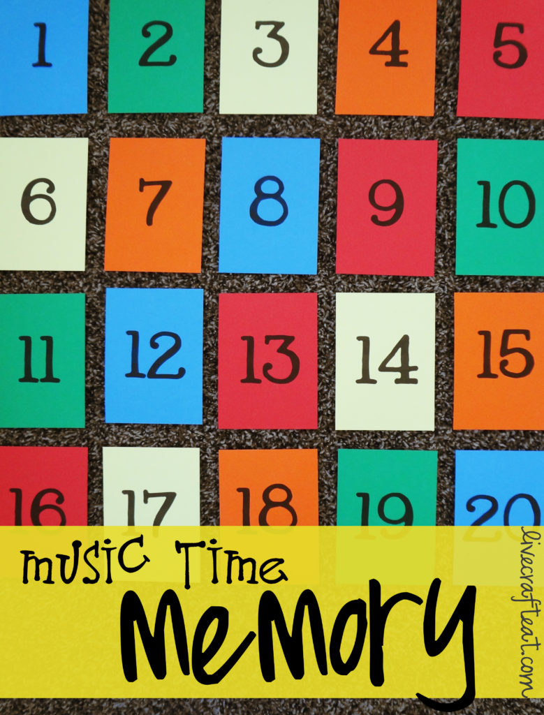 primary music time memory