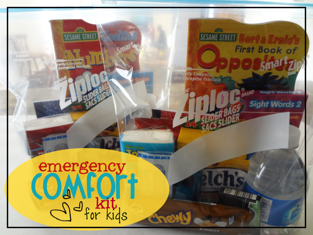 comfort kit for children