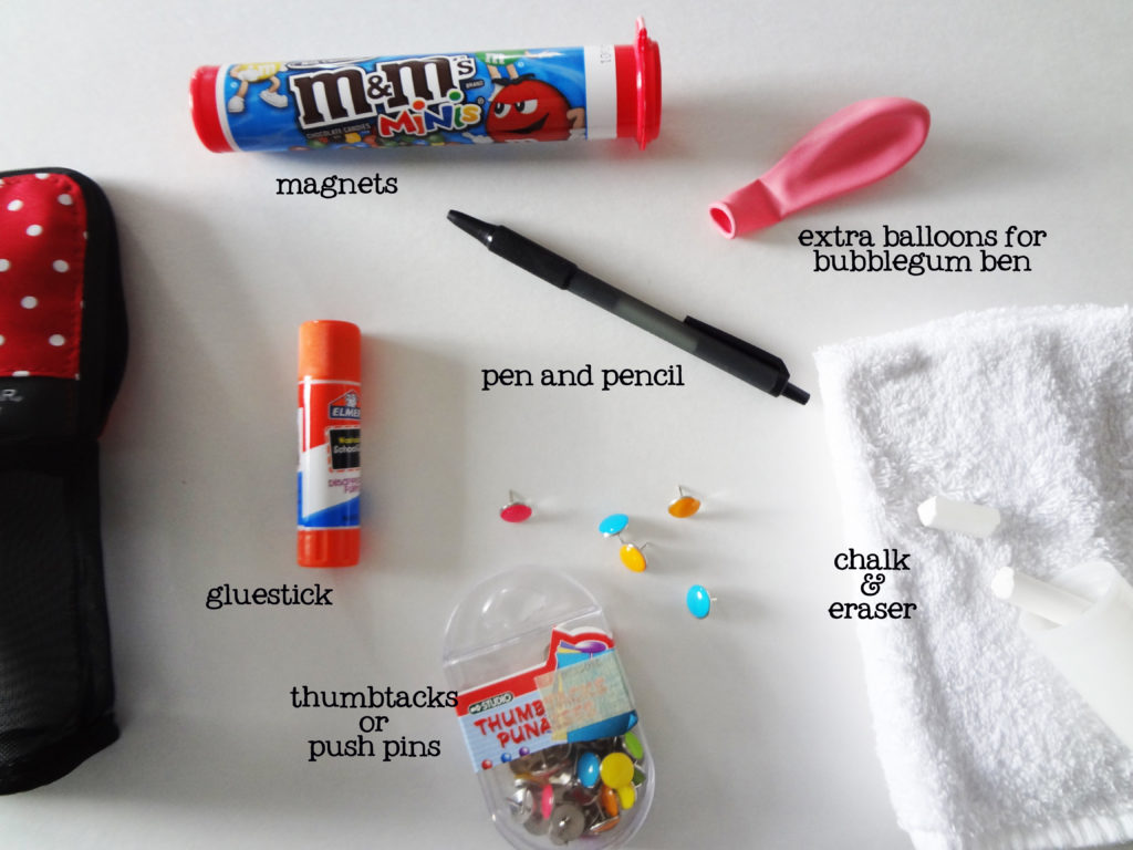 supplies for primary music time