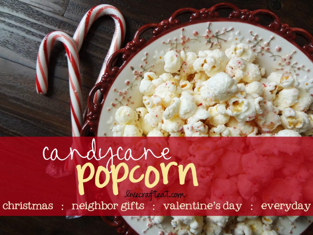 Neighbor christmas gift ideas with popcorn