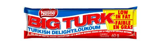 big turk chocolate bar
