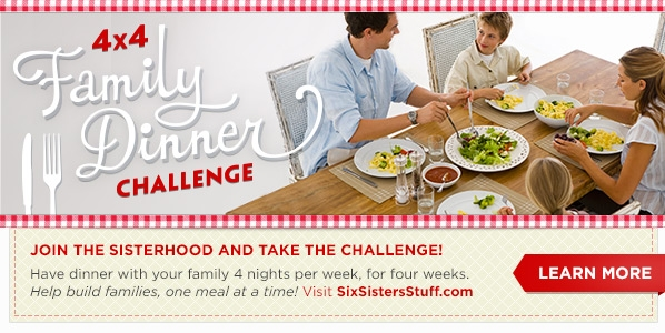 six sisters' stuff - 4x4 dinner challenge