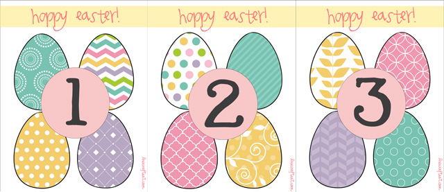 easter egg hunt template