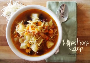 homemade minestrone soup recipe