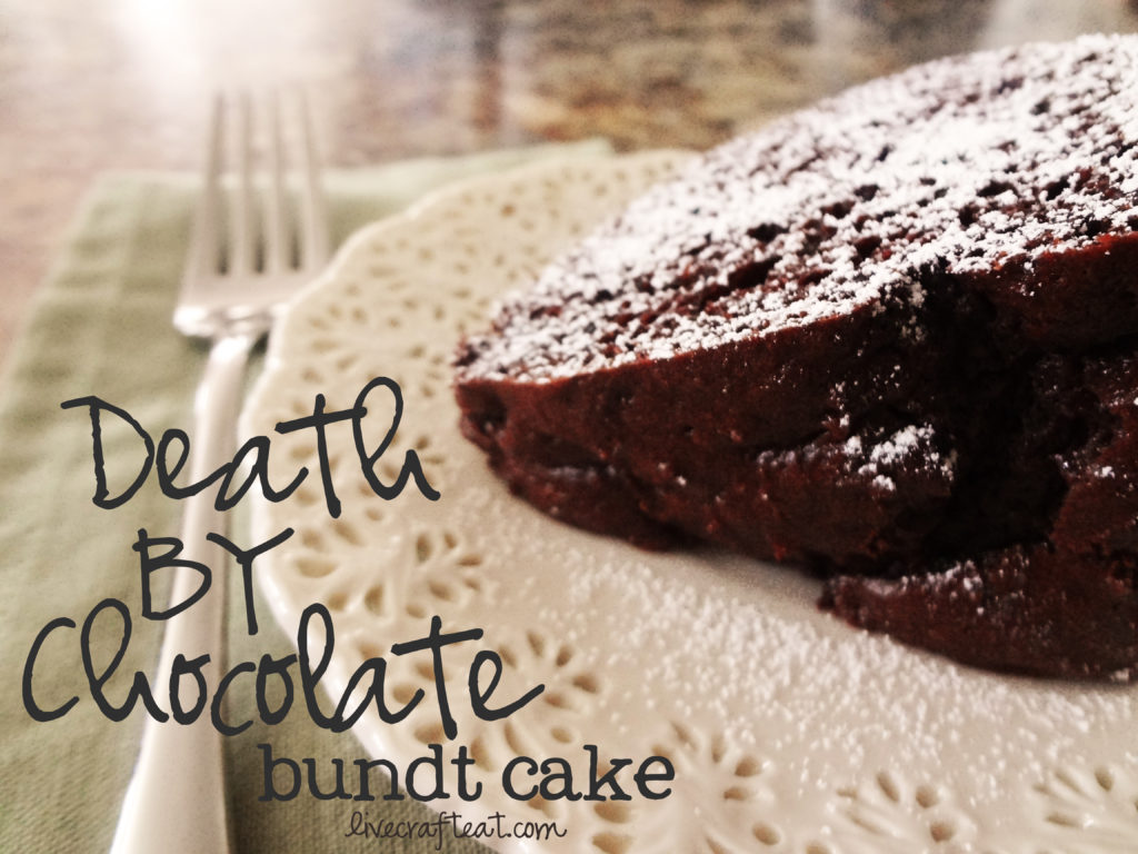 death by chocolate bundt cake - amazing!