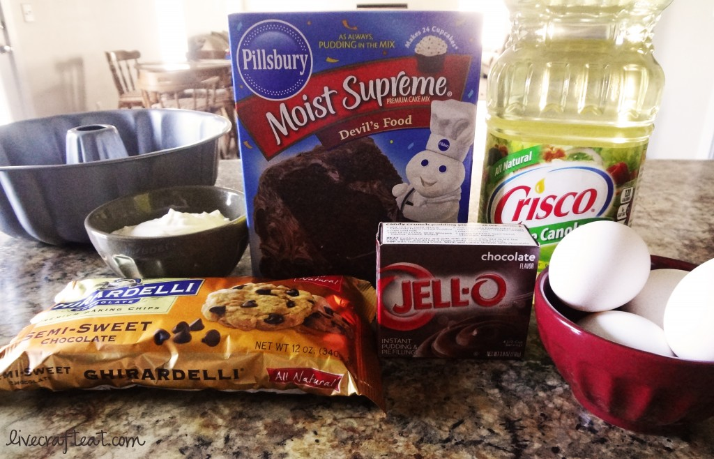 homemade chocolate cake ingredients