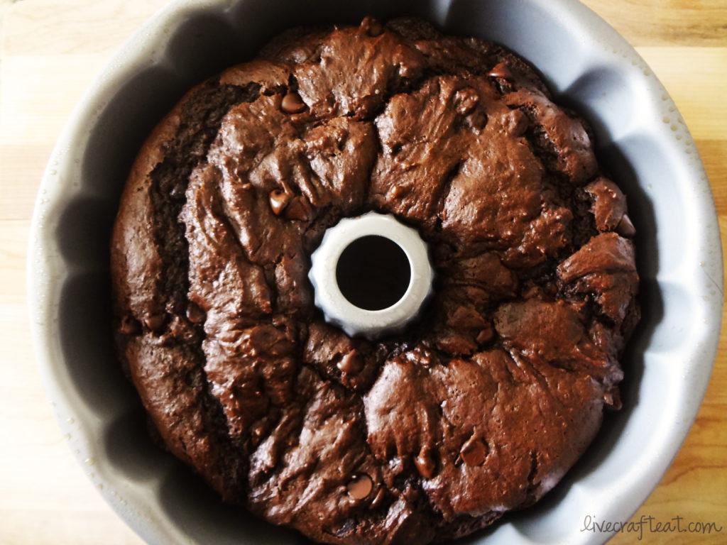 amazing chocolate bundt cake - and so easy!!