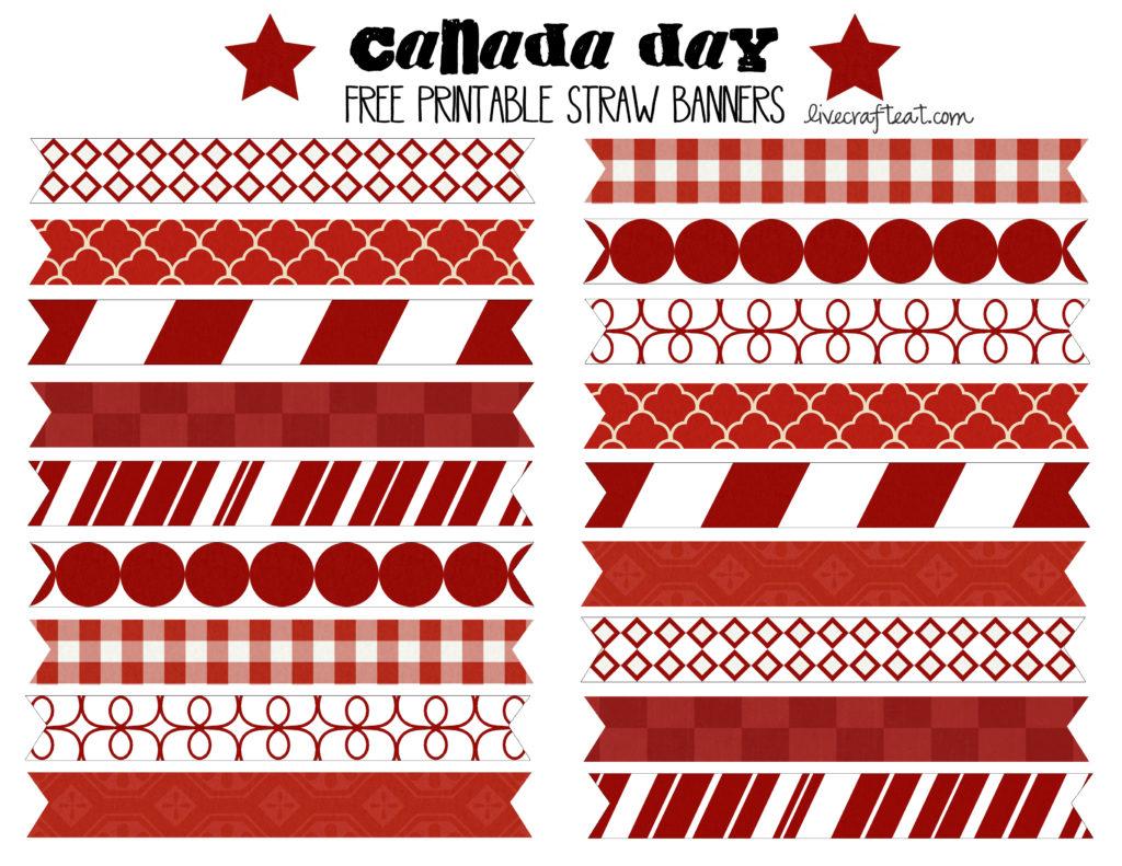 canada day printables