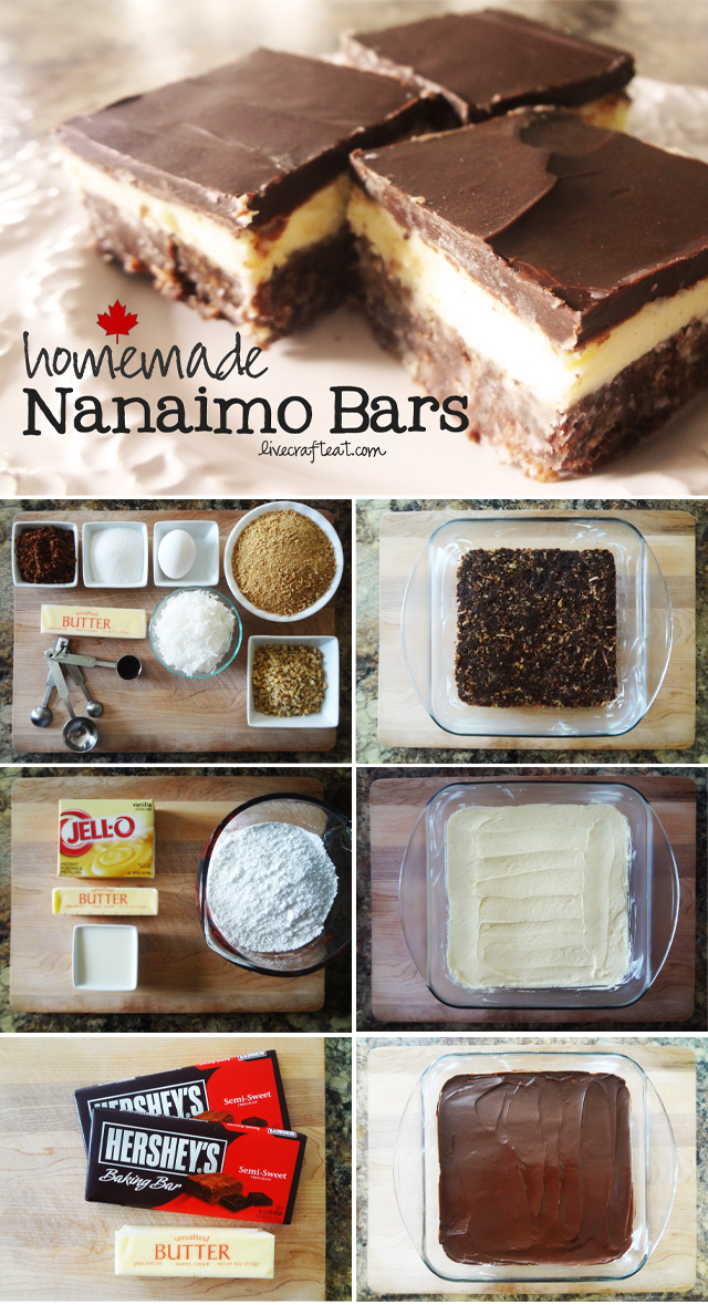 nanaimo bar recipe