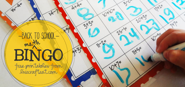 math bingo games for kids