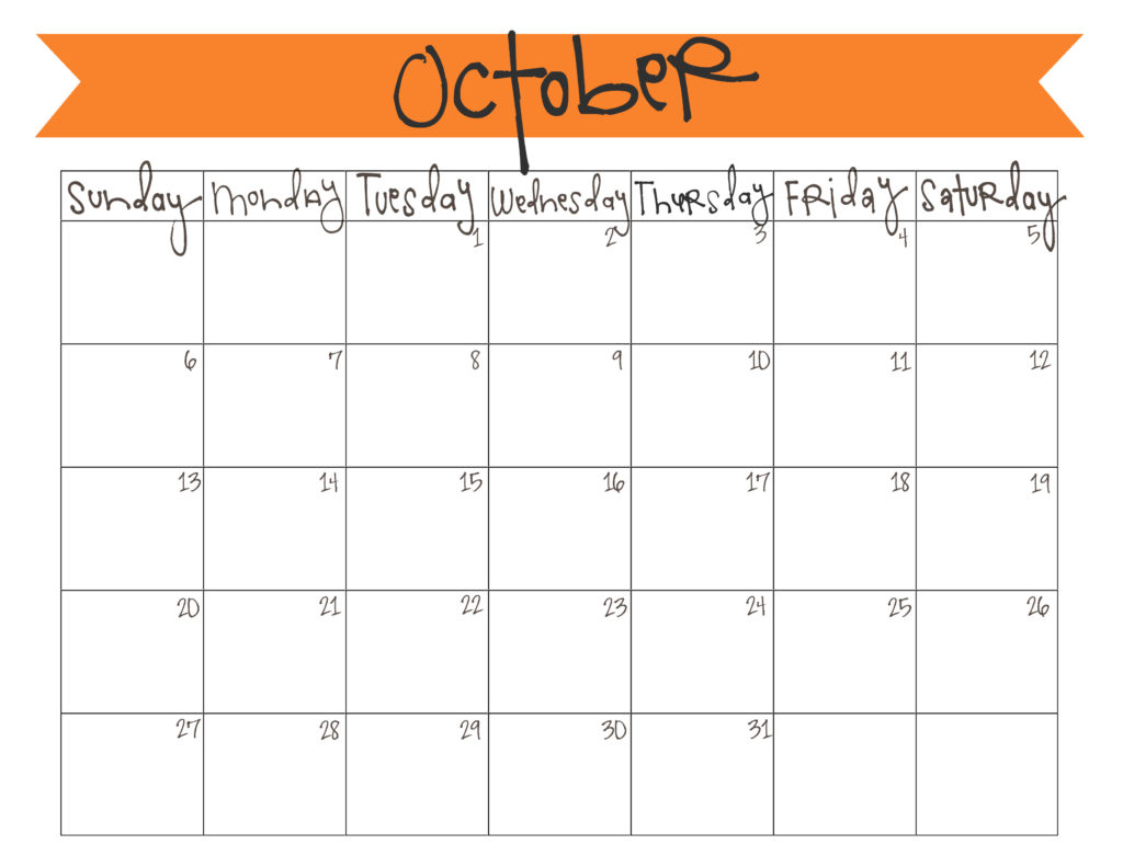 picture regarding Printable Calendar for October referred to as Oct 2013 Calendar - Free of charge Printable Reside Craft Consume