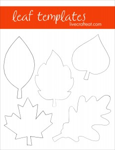 fall leaf crafts activities for kids live craft eat. Black Bedroom Furniture Sets. Home Design Ideas