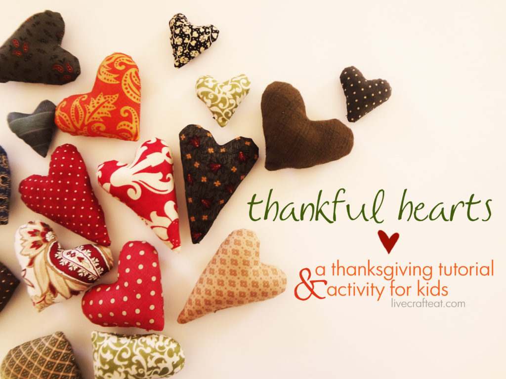 thankful hearts :: a thanksgiving tutorial & activity for kids