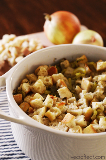 homemade turkey stuffing recipe 340