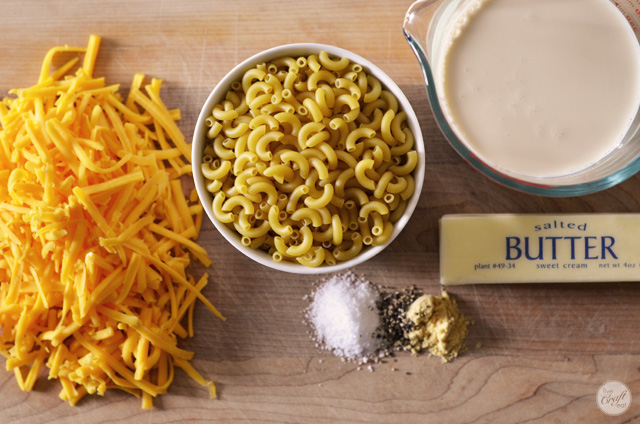 easy slow cooker macaroni and cheese ingredients