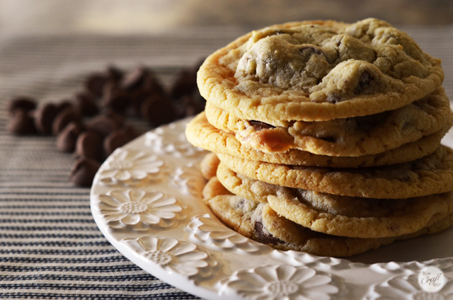 our family's favorite chocolate chip cookie recipe.