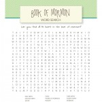 book of mormon word search