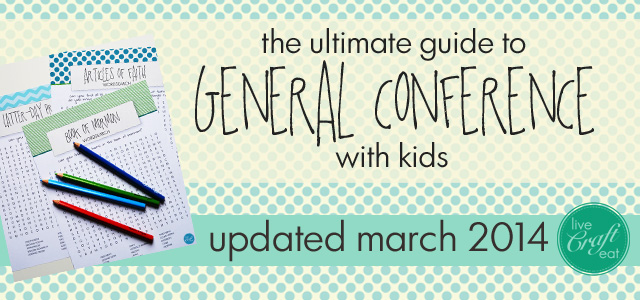 general conference for kids