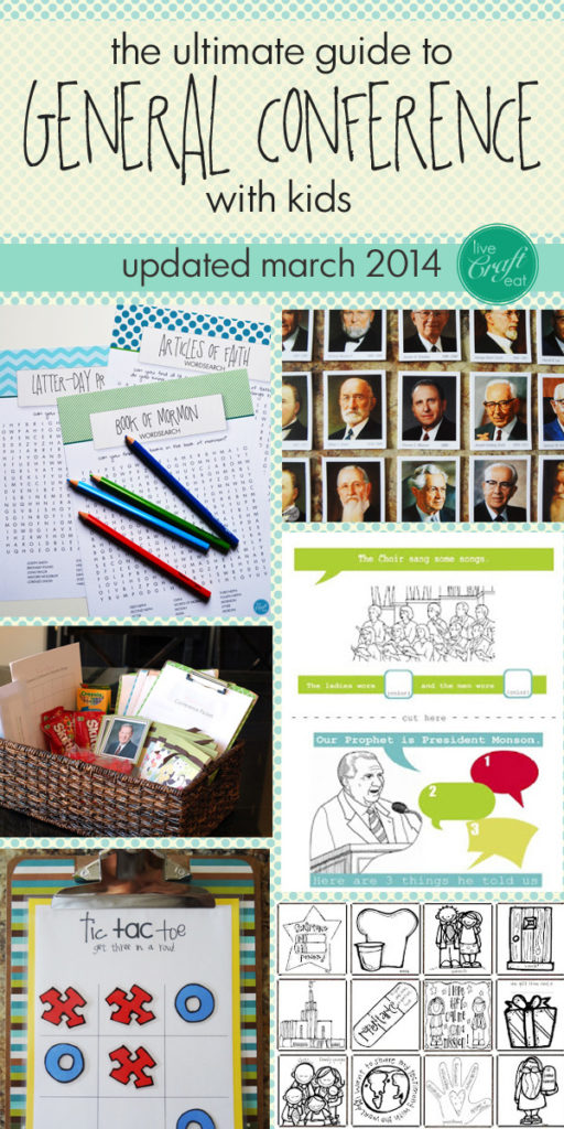 activities for general conference