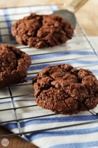decadent double chocolate cookie recipe
