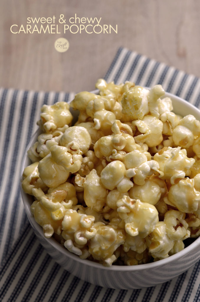 Caramel Popcorn Recipe How To Make Homemade Caramel Popcorn Lce
