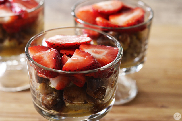 how to make a french toast trifle - so cute and yummy!