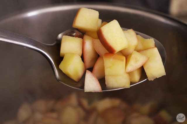 cooking apples for homemade applesauce