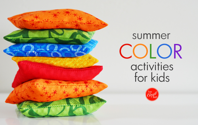 summer color activities for kids :: take advantage of the colorful days of summer with these fun and educational activities for kids!
