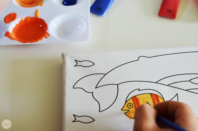 paint mixing activities for kids