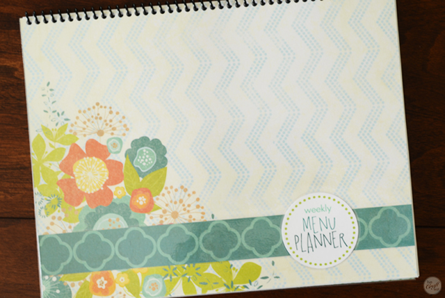 meal planner book - plan your meals for an entire year! or just a week at a time.... :)
