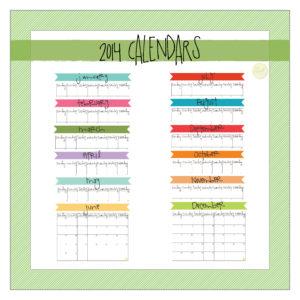 etsy monthly calendar