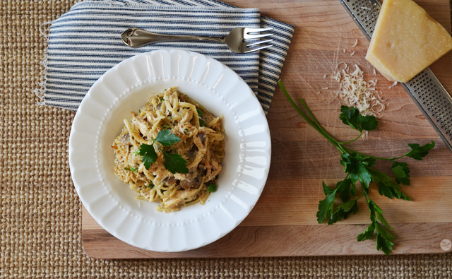 easy peasy chicken tetrazzini recipe