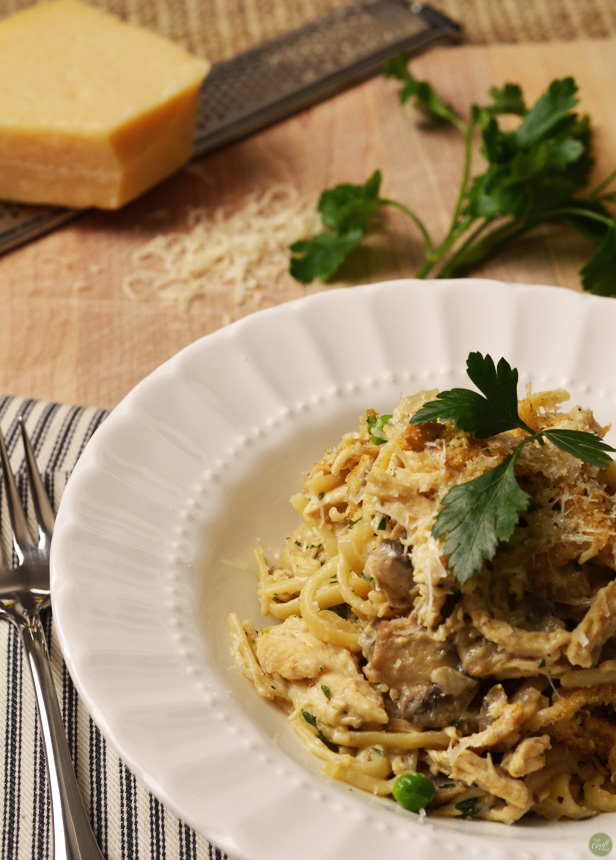 easy peasy chicken tetrazzini. yum!!!