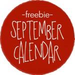 free printable 2014 september calender