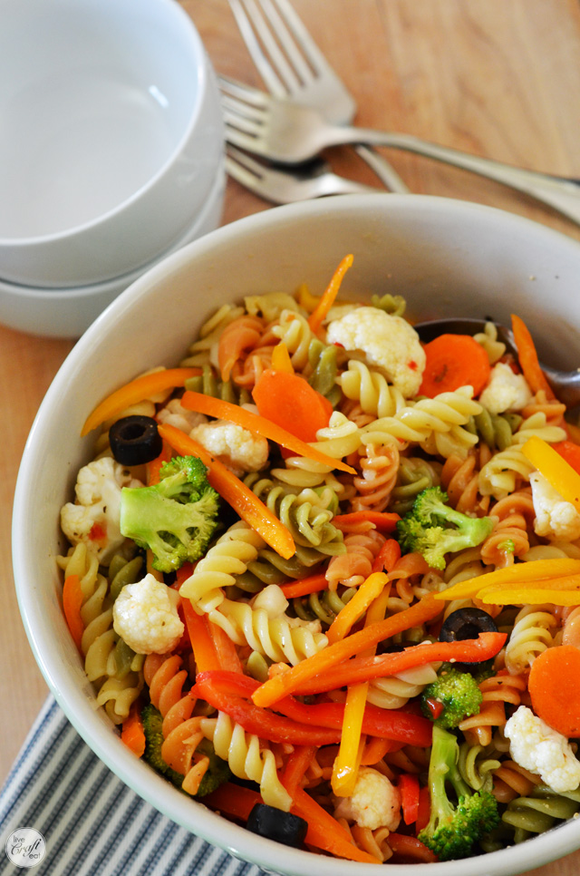 for the love of pasta salad.