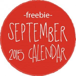 free september 2015 printable calendar