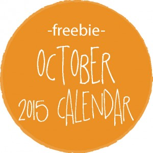 free printable monthly calendar