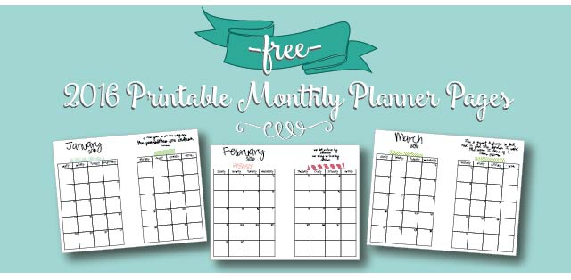 photo regarding A5 Planner Printables called Cost-free Printable 2016 Regular Calendar A5 Webpages Stay Craft Consume