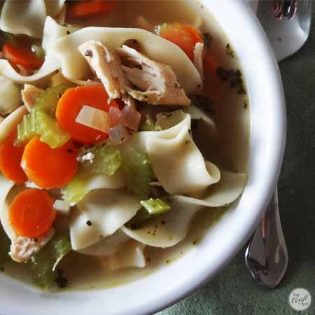 how to make really easy noodle soup