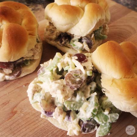 chicken salad sandwiches pic