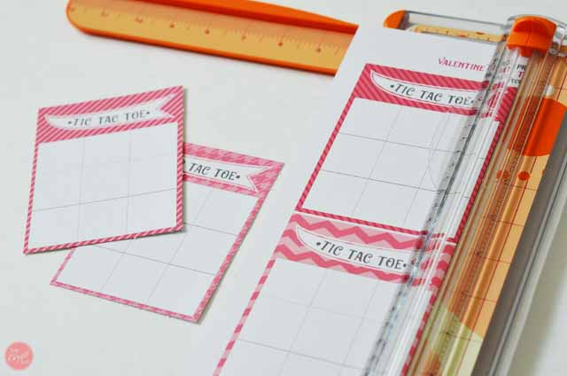 Printable Valentine\'s Day Cards - Tic Tac Toe | Live Craft Eat