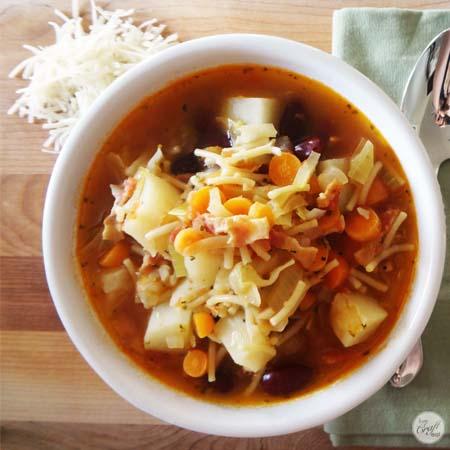 minestrone soup 450x450