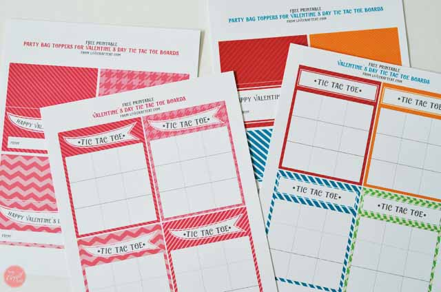 picture relating to Free Printable Tic Tac Toe Board referred to as Printable Valentines Working day Playing cards - Tic Tac Toe Stay Craft Try to eat