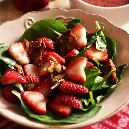 strawberry spinach salad 450x450